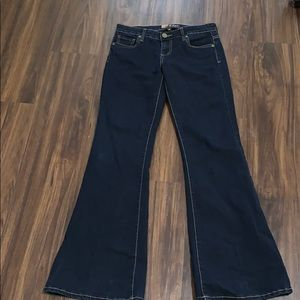 Kut from the Kloth Dark rinse  flared jeans